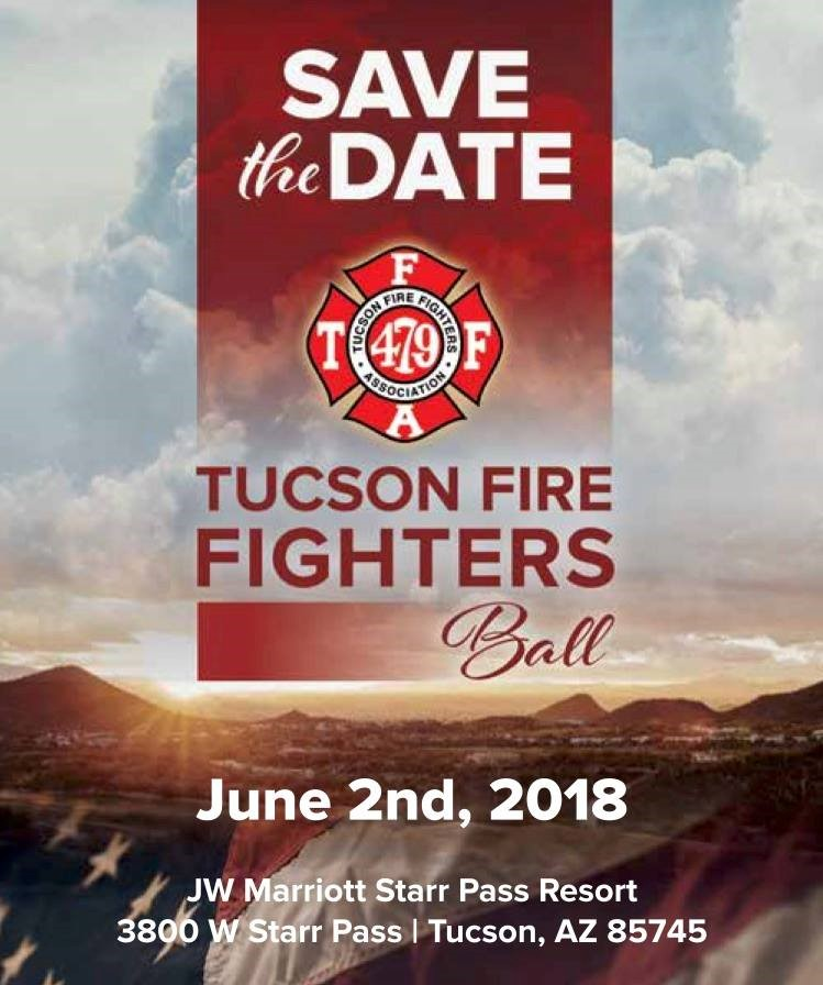 Firefighter Ball Save the Date Notice June 2nd 2018