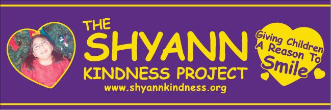 Shyann Kindness Project Logo