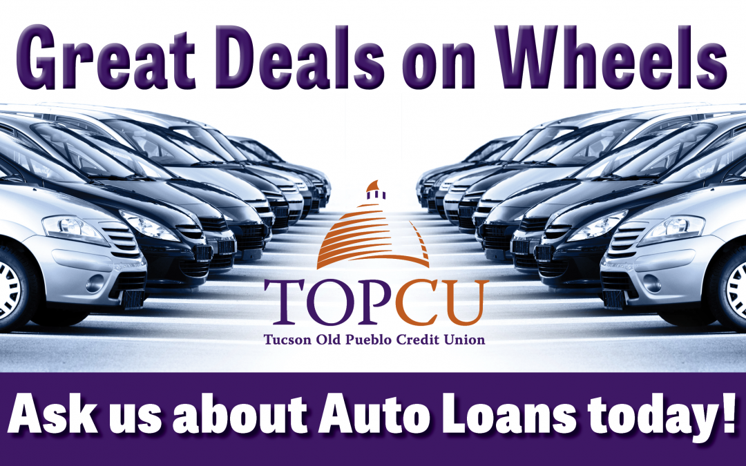 Shop smarter with a pre-approved auto loan from TOPCU