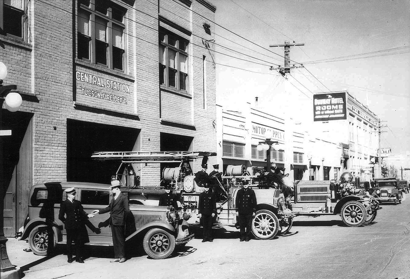 Photo of 1930's Fire Station