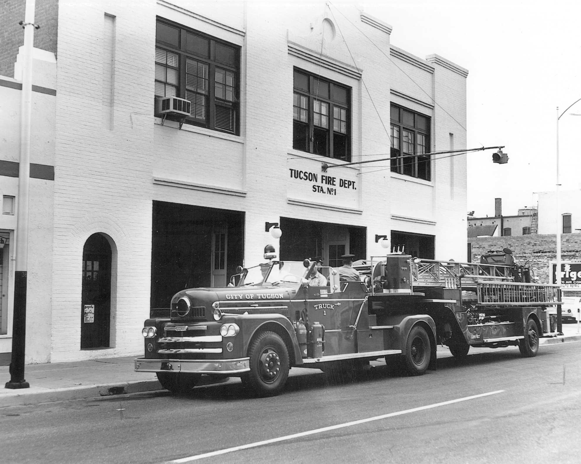 Fire Station No 1 Tucson Old Pueblo Credit Union Topcu