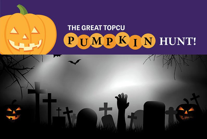 The Great TOPCU Pumpkin Hunt