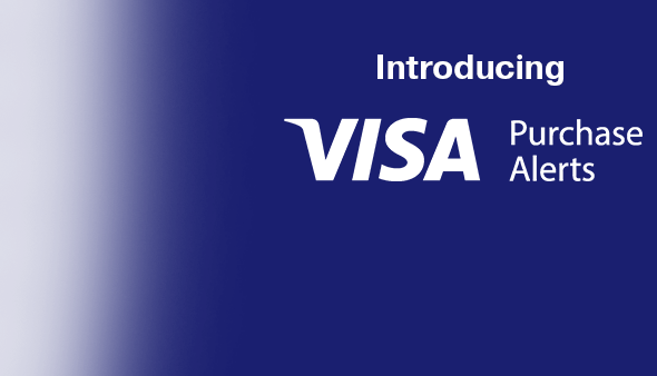 Introducing:  Visa Purchase Alerts