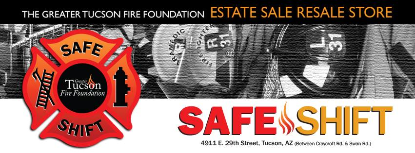 Greater Tucson Fire Foundation Safe Shift Estate Sale Resale Store logo