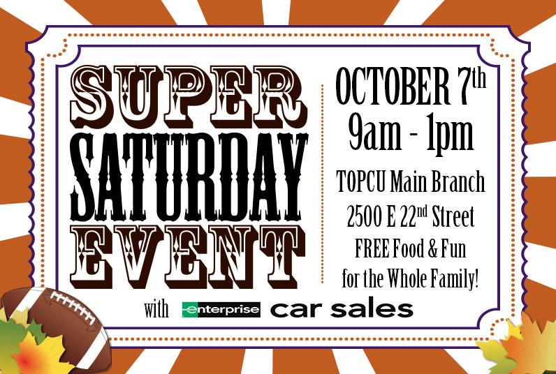 Super Saturday is October 7