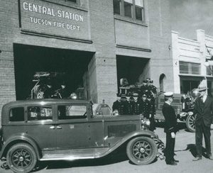 Photo of Tucson Fire Department Central Station 1930s